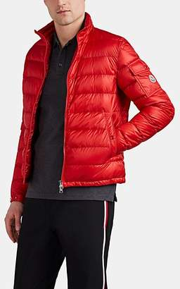 Moncler Men's Down-Quilted Puffer Jacket - Red