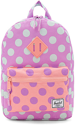 Herschel Supply Co. Heritage Kids Backpack in Lavender. $40 thestylecure.com