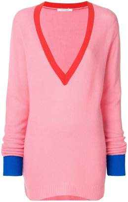 Parker Chinti & v-neck loose sweater