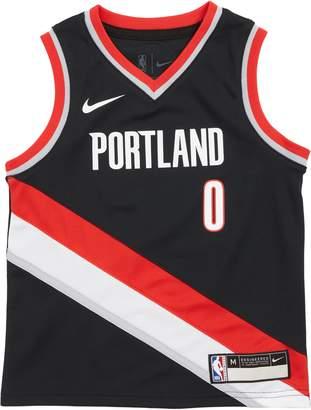 NBA LOGO Portland Trail Blazers Damian Lillard Basketball Jersey