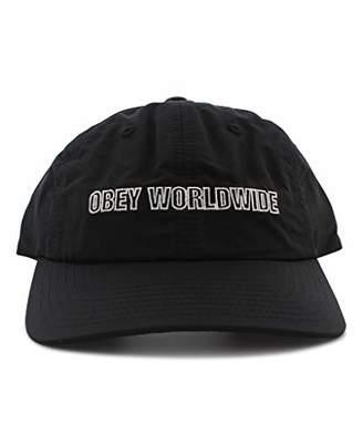3227307ed84d2 Obey Men s Gossip 6 Panel Snapback HAT