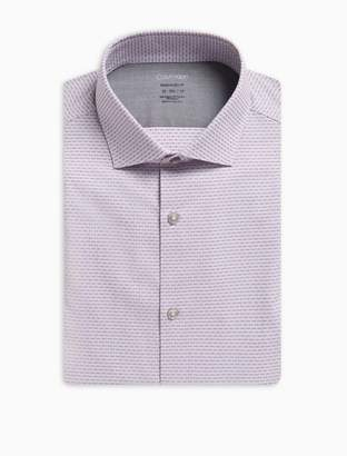 Calvin Klein Extreme Slim fit dash stripe dress shirt