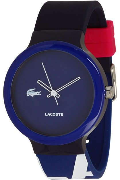 Lacoste Goa Silicone Watch 2020043 (Blue) - Jewelry