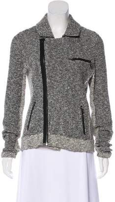 Rag & Bone Zip-Up Bouclé Jacket