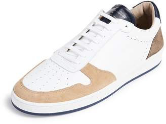Zespà Mixed Leather Low Top Sneakers