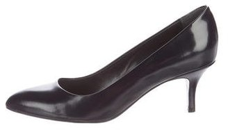 Paul Smith Pointed-Toe Leather Pumps $95 thestylecure.com