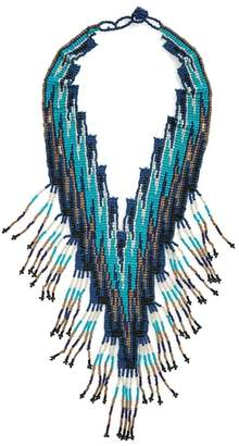 Panacea Seed Bead Statement Necklace