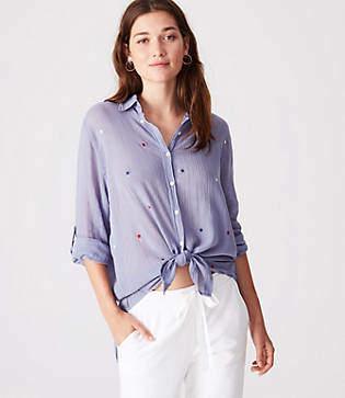 Lou & Grey Sundry Stars Oversized Shirt