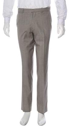 Theory Plaid Dress Pants