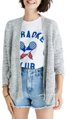 Women's Madewell Skipper Open Stitch Cardigan $88 thestylecure.com