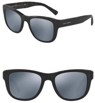 Dolce & Gabbana 54mm Square Full Rim Sunglasses