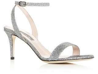 e7a2c71c0149 Sarah Jessica Parker Women s Gal Glitter Mid-Heel Sandals