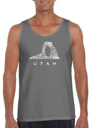 Los Angeles Pop Art Big Men's Tank Top - Utah
