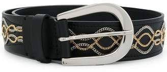 Orciani chain embellished belt