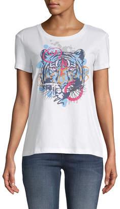 Armani Exchange Graffiti Tiger T-Shirt