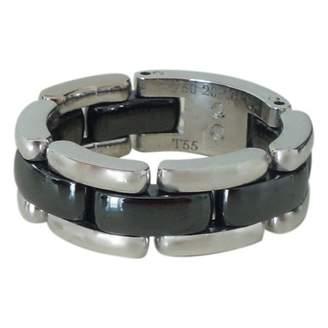 Chanel Ultra Black White gold Ring