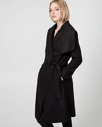 Le Château Cashmere-Like Belted Wrap Coat