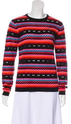 Bella Freud Wool Striped Sweater