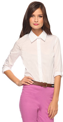 Forever 21 Classic Woven Shirt