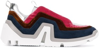 Pierre Hardy layered design sneakers