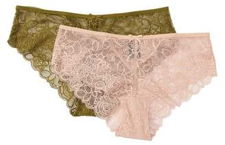 Free Press Lace Hipster Panties - Pack of 2