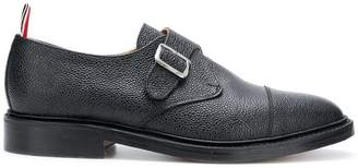 8f20759ef87 Thom Browne Single Monk Strap Leather Shoe