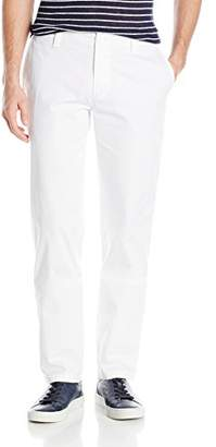 Armani Exchange A|X Men's White Core Stretch Twill Chino Pant Slim Fit