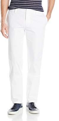 Armani Exchange A|X Men's White Core Stretch Twill Chino Pant Slim Fit