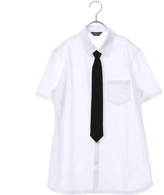 Comme Ca Ism (コムサイズム) - コムサイズム COMME CA ISM ネクタイ付き半袖シャツ