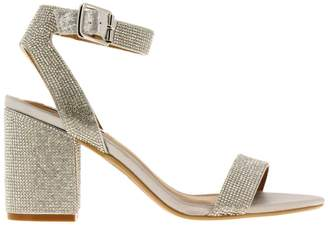 172904c4646 Steve Madden Silver Heeled Women s Sandals - ShopStyle
