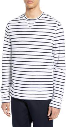 Club Monaco Narrow Stripe Duofold T-Shirt
