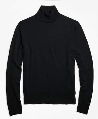 Brooks Brothers (ブルックス ブラザーズ) - ウォッシャブルメリノウール タートルネックセーター