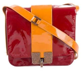 Marc Jacobs Patent Leather Crossbody Bag Red Patent Leather Crossbody Bag