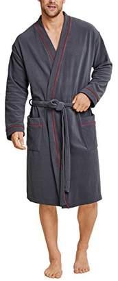 Schiesser Men's Bademantel Dressing Gown,(Size: 052)