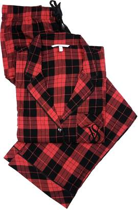 Victoria's Secret Victoria's.Secret. Dreamer Flannel Checks & Plaids Pajama Set