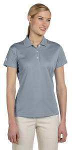 adidas Ladies ClimaLite(r) Pique Short-Sleeve Polo A131