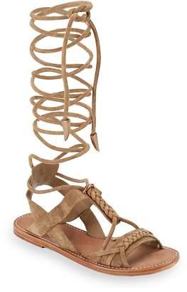 Ash Women's Peace Tall Gladiator Flat Sandals