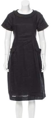 Easton Pearson Linen Midi Dress w/ Tags