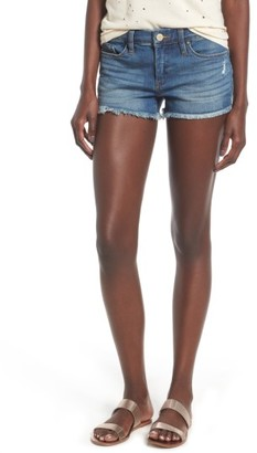 Women's Blanknyc Cutoff Denim Shorrts $68 thestylecure.com