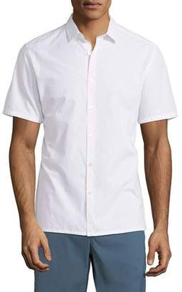 Theory Men's Coupe Murray Ripstop Short-Sleeve Sport Shirt