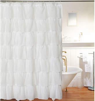 Asstd National Brand Layered Voile Shower Curtain