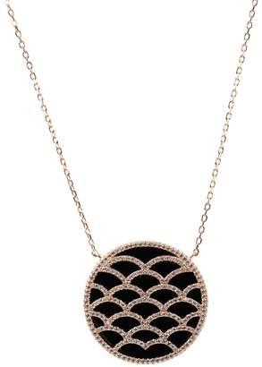 Rosegold Latelita - Venus Necklace Black Onyx
