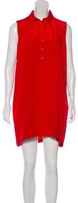 Saint Laurent Mini Sleeveless Dress