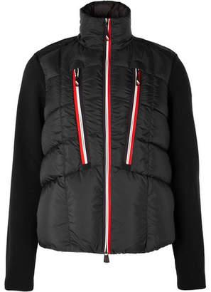 Moncler Quilted Down Ski Jacket - Men - Black