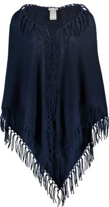 Minnie Rose Fringe Poncho
