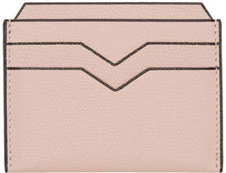 Valextra Pink 4CC Card Holder