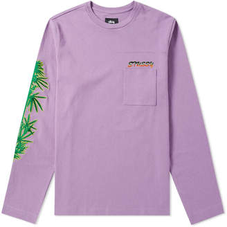 Stussy Long Sleeve Leaves Tee