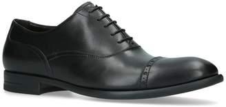 Ermenegildo Zegna Leather Flexible Oxford Shoes