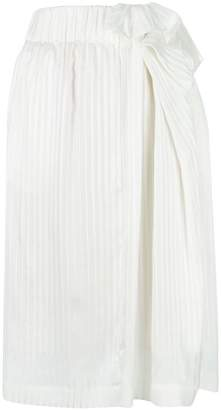 Stella McCartney textured over-the-knee skirt