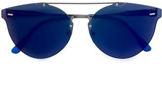 RetroSuperFuture Tuttolente Giaguaro Infrared aviator sunglasses